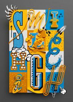 JSR #illustration #typography