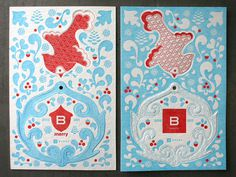 Letterpress Love With Baker Associates « Beast Pieces #ornament
