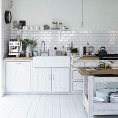 kitchen inspiration | the style files #country #design #house #modern