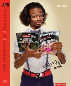 Standard Hotel 2009 Calendar #glasses #supp #nerd
