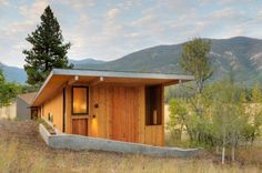 Miners Refuge by Johnston Architects #house #architects #wood #architecture #johnston