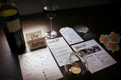 Tyler Watkins 21st Design #invite #design #graphic #wine #map #tag #vineyard #typography