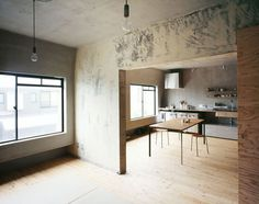 Setagaya Flat by Naruse Inokuma Architects