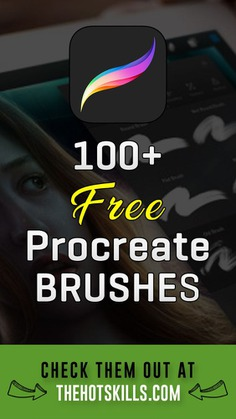 100+ Best Procreate Brushes to Download for iPad Pro (Free + Premium)   procreate brushes   procreate brushes free   best procreate brushes   free procreate brushes   procreate brushes ipad