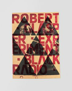 Robert Glasper Letterpress #design #graphic #illustration #identity #typeface #poster #type #promotion #typography