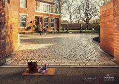 Paving to be proud of. Marshalls. #advert #advertising #creative #ideas #doormat #shoes #driveway #inspiration