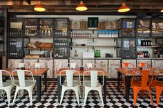 Jamie-s-Italian-in-Westfield, Stratford-City-Blacksheep-Jamie-Oliver-photo-Gareth-Gardner-2-Yatzer #interior design #restaurant