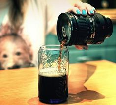Lens Flask and Mug #gadget