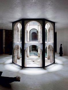 Le laberinthe de Xavier Corberó #space