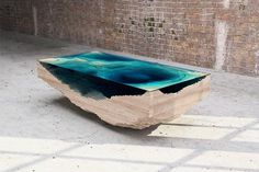 The coffee table that forces you to stare deep into the abyss of creativity and design. #design #product #product design #industrial design