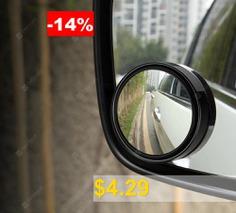 2Pcs #Car #Vehicle #Blind #Spot #Mirror #Rear #View #Mirrors #HD #360 #Degree #View #Adjustable #Mirror