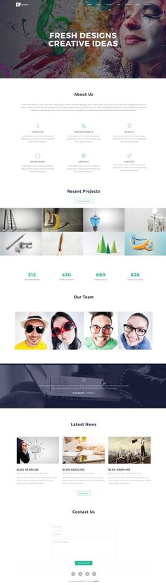 $16 Froopy - Design Agency - Multipurpose template