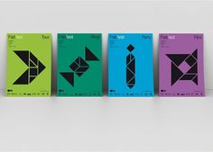 Work: FadFest_posters | Astrid Stavro #poster #geometry