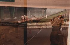 Double Exposure #city #exposure #photography #double #film #beach