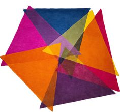 Graphic, Vibrant and Colorful Rugs by Sonya Winner Studio