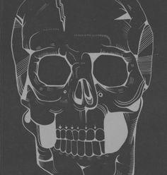 tumblr_lt8ktgDNu11qfv6eho1_1280.jpg 1218×1280 pixels #skull #portrait #death #black