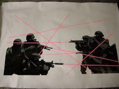 MMAFTdesigns's Photos - Wall Photos #soldiers #screen #print #laser
