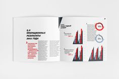 Annual report 2012 on Behance