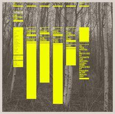 Grid #print #brochure #woods