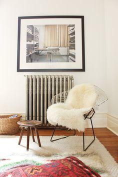 More Design Please MoreDesignPlease Modern BohemianRoom #interior #chair #design #fur