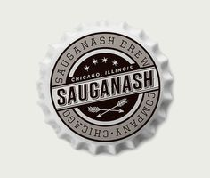 Sauganash Brewing Co. Cap #brewery #beer #bottle #brewing #cap