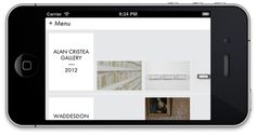 Edmund De Waal Mobile #site #web #mobile