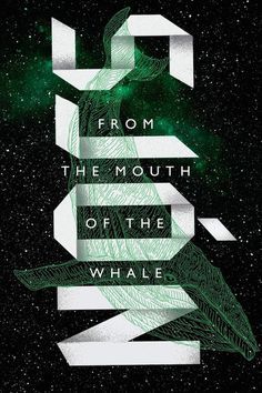 Tor.com Science fiction #whale #book #novel #cover #sjon #typography