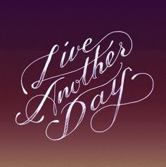 http://ok-backtowork.tumblr.com/ #cursive #hand #done #typography