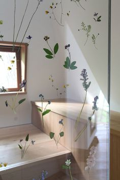 Nasu-Tepee-by-NAP-Architects_Hiroshi-Nakamura_dezeen_468_4 #glass #resin #wall #flowers