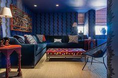 Eclectic design style and originality for Bond Street Apartment / www.homeworlddesign.com