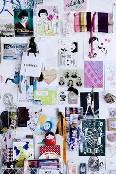 NatlieBloom pinboard #inspiration #wall