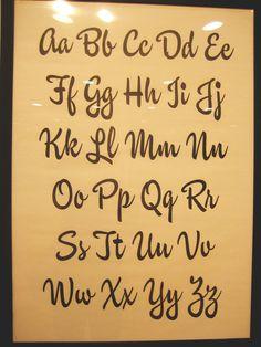 Ken Barber / Brush Script