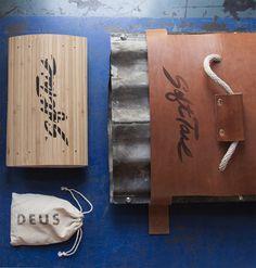 Deus SoftTail Birhouse Brett Newman #design #branding