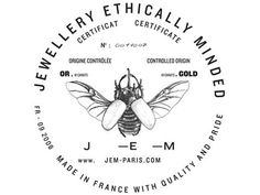 Design / Jewellery Ethically Minded Logo #honey #seals