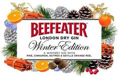 Beefeater Limited Edition Winter Gin #packaging #label