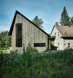 The Sisters House - Black Addition to Traditional-Style Home 2