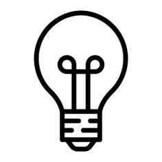 See more icon inspiration related to idea, light bulb, electricity, electronics, invention, technology and illumination on Flaticon.