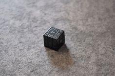 9969 Braille Brand on the Behance Network #rubiks #cube
