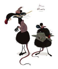 Julian Rossire - Rats #character #rats