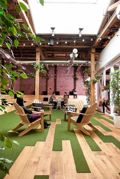 GitHub Office Space in San Francisco by Studio Hatch 6