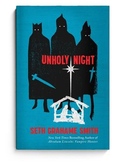 Unholy Night Cover | The Heads of State Press Room #religious #print #book #texture #cover #illustration #woodblock