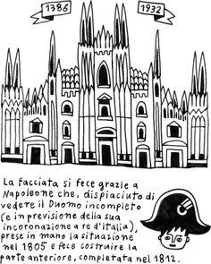 Duomo di Milano #illustration #drawing #italy #travel #milano