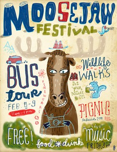 Moosejaw Festival Poster