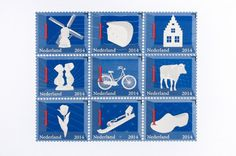 The Dutch Stamps #stamp #dutch #icons