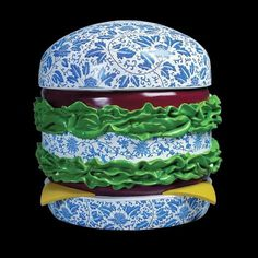 Burgers by Song Wei | Zeutch #fun #design #sculpture #hamburger