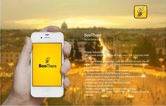 BeeThere | Social Game #design #drogu #app #beethere #game #geo #social