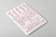 A Friend of Mine — Recent Projects Showcase | September Industry #print #typography