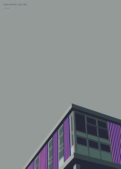 Poster, illustration, arquitecture