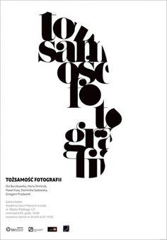 plakaty - krokopies #poster #typography