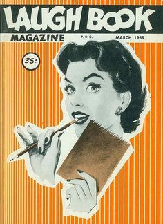 laugh-book-march-1959 | Flickr - Photo Sharing! #illustration #magazine